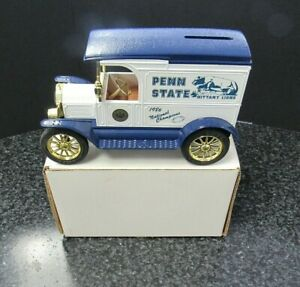 Ertl 1917 Ford Penn State Champs Model T 1/25 Scale Diecast Coin Bank CCTP026