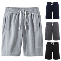 Sports Jogging Men Plus Size Drawstring Shorts Fitness Fifth Pants M-6XL