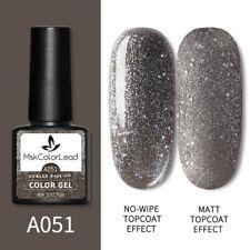 Nail Gel Polish Gray Nail Gel 8ML For Baking Nail Art Manicure Semi Permanent