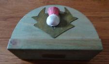 Fatto a mano rustico in legno Cardo DESIGN TOVAGLIOLO/Lettera Titolare