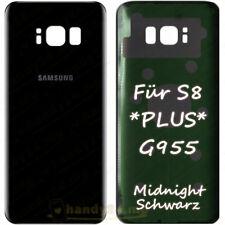 Akkudeckel Für Samsung Galaxy S8 PLUS G955F Backcover ● Midnight Schwarz +Kleber