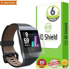 Fitbit Ionic Screen Protector Full Coverage HD Clear Easy Install New (6-Pack)