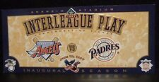 "1997 INTERLEAGUE PLAY COMMEMORATIVE TICKET - JUNE 12, 1997 -SIZE 10"" X 4"" - MINT"