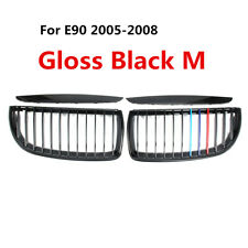 Front Kidney Grill Grille For BMW E90 E91 3 Series Saloon Wagon 05 06 07 08