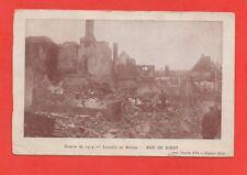 Belgique - Guerre de 1914 - LOUVAIN en ruines - Rue de Diest   (J4571)