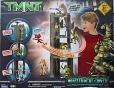 ~ TMNT Ninja Turtles - MONSTER TOWER FIGURE PLAYSET TOY Collectable