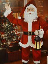 New ListingNew Life Size 5 ft Jumbo Santa Singing, tells Christmas Stories, Lights Up