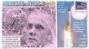 COVERSCAPE computer designed 60th anniversary Mercury-Atlas 4 test launch cover