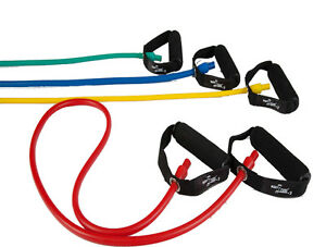 4er Dittmann Premium Body Tube Fitnessbänder Gymnastikband Expander Fitnessband