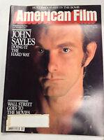 American Film Magazine John Sayles The Hard Way October 1982 040517nonr