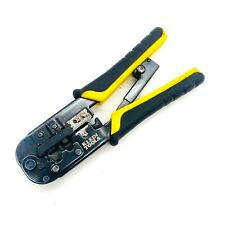 Klein Tools Vdv226 011 Ratcheting Data Cable Crimper Stripper Cutter