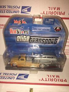 Maisto Elite Transport CS Tow Truck /67 VW 1600 Squareback Rare