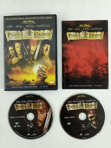 DVD Disney VF Pirates des Caraibes Malediction du Black Pearl 2 DVD  Envoi suivi