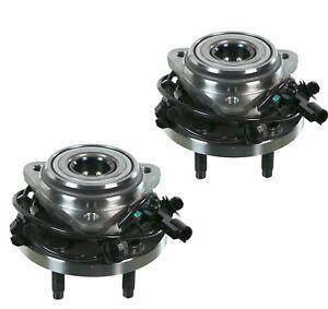2 DTA Front Wheel Hub Bearing Assemblies for Explore Ranger B3000 B4000 4WD/AWD