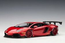 LAMBORGHINI AVENTADOR LIBERTY WALK LB WORKS METALLIC RED 1/18 AUTOART 79109