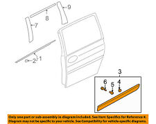 KIA OEM 06-12 Sedona Side Sliding Door-Body Side Molding Left 877214D100