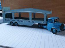 Dinky toys N°582 pullmore car transporter
