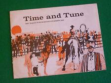 TIME & TUNE SUMMER TERM 1965 BBC SCHOOLS (RHYTHM AND MELODY) JOHN DYKE