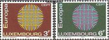 Luxemburg 804-805,806,807-808 (kompl.Ausg.) gestempelt 1970 Naturschutz, Vogel,