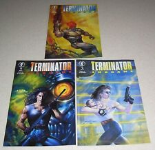 The Terminator Endgame #1 #2 & #3 FN/VF Complete Set - Dark Horse Comics 1992