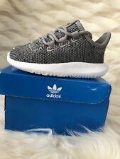 BABY BOY: Adidas Originals Tubular Shadow Shoes Gray - Size 4c (+Sizes & Colors)