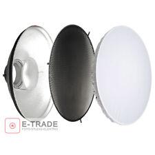 F&V Beauty Dish SILVER + GRID Dia. 70cm Con Attacco Bowens BeautyDish Honeycomb