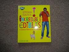Stefan Gates Incredible Edibles science-flavoured cookbook VGC