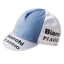 BIANCHI PIAGGIO RETRO CYCLING TEAM BIKE CAP - Vintage, Fixed Gear, Fausto Coppi