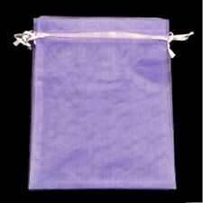 1, 10, 25, 50 or 100 Organza Bags / Jewellery Pouches - 7x9cm Various Colours UK
