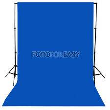 1.5 x3m Blue Non-woven fabric Photo Photography Backdrop Background Cloth 5x10ft