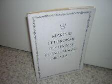 1955.martyre des femmes de l'Allemagne orientale / Kaps.Silésie.guerre 39-45