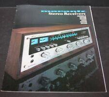1975 Marantz 3144-105B Stereo Receivers Fold Out Poster Catalog 2240B 2235B 2225