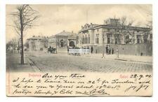 Galati, Romania - Prefectura & street scene - 1902 used postcard