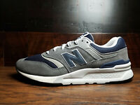 """New Balance CM997HAX""""Classic"""" (Grey/Navy) Suede 997 Mens 8-13"""