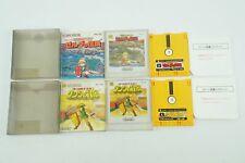THE LEGEND OF ZELDA 1 2 Set NES Nintendo Famicom Disk System Box From Japan
