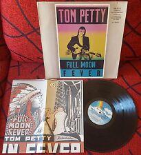 TOM PETTY *** Full Moon Fever *** SCARCE 1989 Venezuela LP w/ INSERT