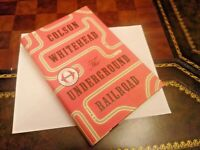 The Underground Railroad Colson Whitehead 2016 First Edition, 1st Print Pulitzer