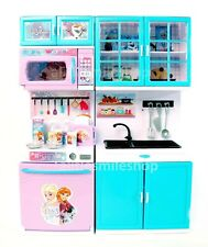 Disney FROZEN Role Play Kitchen Pantry Set Kids Pretend Toy Gift 3-8Y