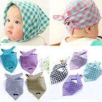 Infant Kids Baby Unisex Cotton Feeding Saliva Towel Dribble Triangle Bibs Scarf