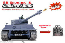 RC German Tiger I Tank  2.4G shooting + Smoking + sounding Pro Version  UK