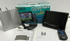 "Digital Prism 7"" Digital Lcd Tv W/Philips Indoor Antenna, Rmt Atsc-710 Portable"