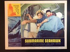 "11"" x 14""  ""SUBMARINE SEAHAWK"" 1959 THEATER FILM PROMO LOBBY CARD"