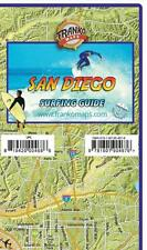 San Diego County Surfing Map Waterproof Surfing Guide by Franko Maps