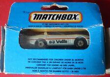 '83 CORVETTE MB 69 - RARE - Boxed - Very good condition