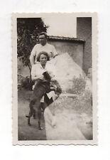 PHOTO  Altérée Ratée Erreur photographique Accident Chien Vers 1940 Lumière