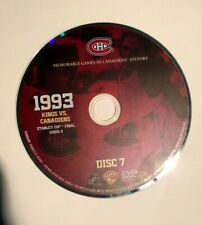 NHL Montreal Canadiens 1993 Stanley Cup Champions G5 Hockey Game DVD-Patrick Roy