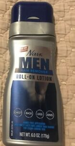 Nair Men Hair Removal Roll On Lotion 6 oz