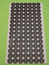 100ct Round VOID Tamper Proof Stickers Screw Hole Security Seal 0.5cm #M4