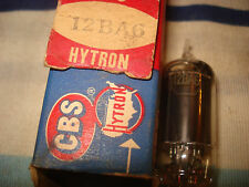 Radio Tube, 12BA6 CBS Hytron, 55-56 Corvette, 55-58 Chevy car, 55-59 Chevy Truck