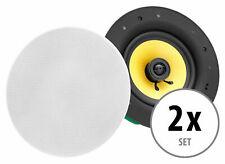 2x High End Gewebe Einbau Lautsprecher Hifi Decken Box Wand Montage Speaker 320W